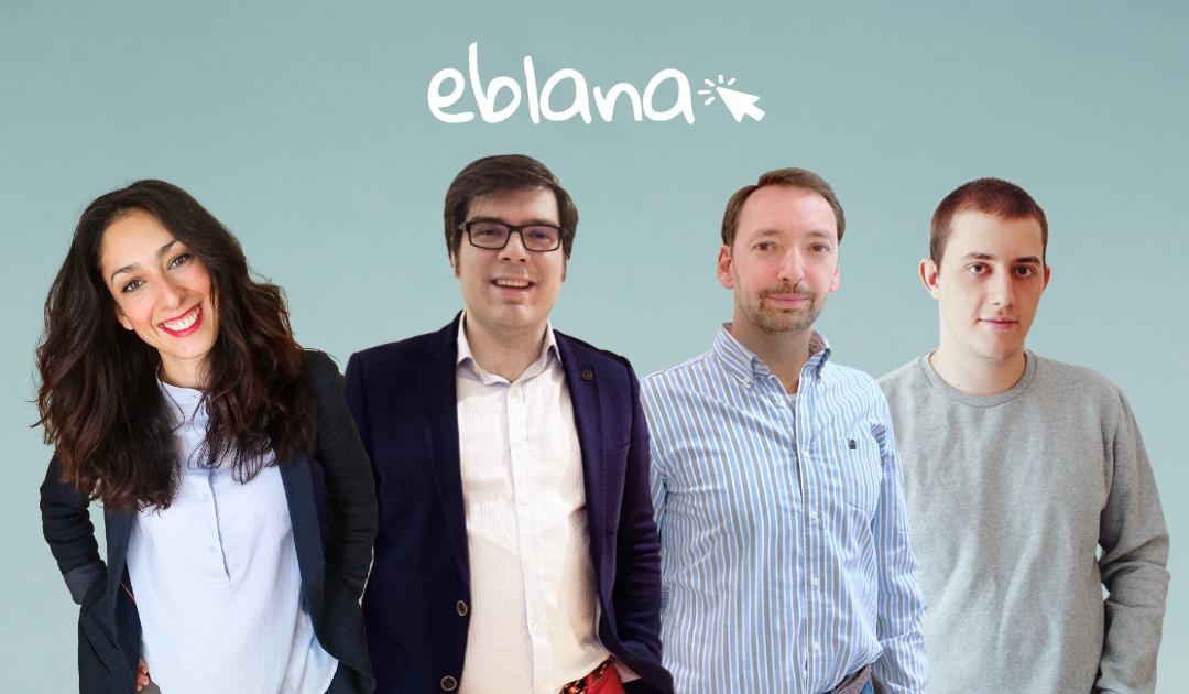 Team | Eblana Solutions | Víctor Díaz | María Raboso | Carlos Darío | Pablo Larrocha | Web Design | Web Development | Graphic Design | Digital Marketing | SEO