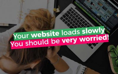 Are you worried because your website is slow?