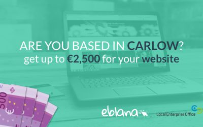 Voucher: €2,500 for your website in Carlow